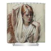 The Shawl Shower Curtain
