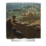 The Sheepstealer Shower Curtain