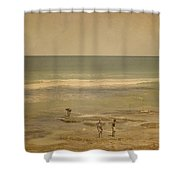 The Shell Seekers Shower Curtain