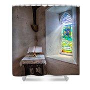 The Shepherd Shower Curtain