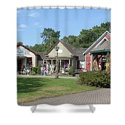 The Shoppes Shower Curtain