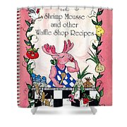 The Shrimp Moose And Other Waffle Shop Recipes Cookbook Calvary Church Memphis Tn Shower Curtain