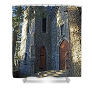 The Shrine Of St Therese Shower Curtain