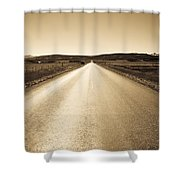 The Side Road 2 Shower Curtain