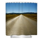 The Side Road Shower Curtain