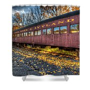 The Siding Shower Curtain