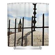 The Siege In Jerusalem Shower Curtain
