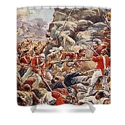 The Siege Of Delhi, 1857 Storming Shower Curtain