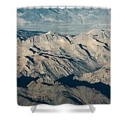 The Sierra Nevadas Shower Curtain