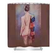 The Silk Scarf Shower Curtain