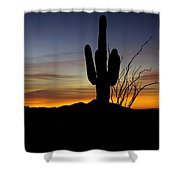 The Simple Beauty Of A Sunrise  Shower Curtain