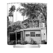 The Simple Life Bw Shower Curtain
