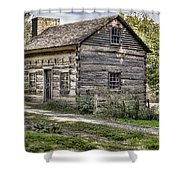 The Simple Life Shower Curtain by Heather Applegate