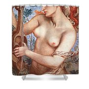 The Siren Shower Curtain