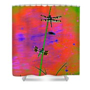 The Skimmer And The Whitetail Art #2 Shower Curtain