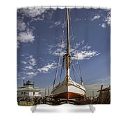 The Skipjack Rosie Parks Shower Curtain