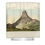 The Skuir On The Egg Island Shower Curtain