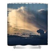 The Sky Serpent Shower Curtain