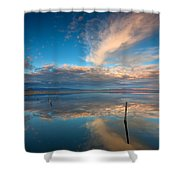 The Sky Whispered Shower Curtain