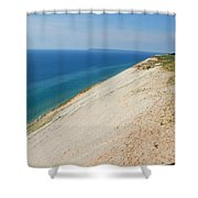 The Sleeping Bear And Her Cub Shower Curtain