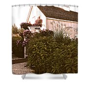 The Small Chapel On The Bay Shower Curtain