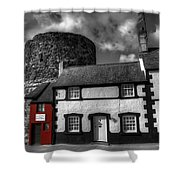 The Smallest House In Great Britain Shower Curtain