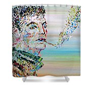 The Smoker Shower Curtain