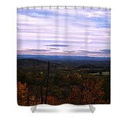 The Smokey Mountains From Hanging Rock State Park Shower Curtain