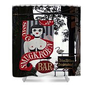 The Smugkroen Bar Shower Curtain