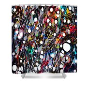 The Soul Verses The Intellect Shower Curtain