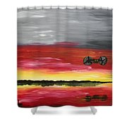 The Sound Of Freedom Shower Curtain