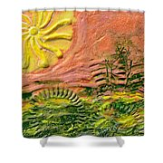 The Sound Of Sunshine Shower Curtain