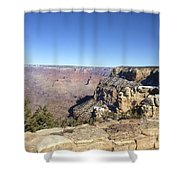 The South Rim In The Winter Shower Curtain