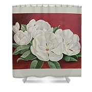 The Southern Beauty Shower Curtain