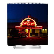 The Southwest Night Shower Curtain