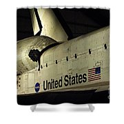 The Space Shuttle Endeavour 12 Shower Curtain