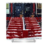 The Spanish Steps Shower Curtain