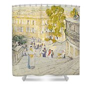 The Spanish Steps Of Rome Shower Curtain