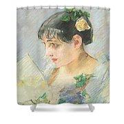 The Spanish Woman Shower Curtain