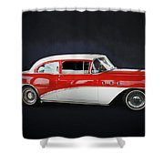 The Special 1957 Buick Shower Curtain