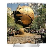The Sphere Shower Curtain
