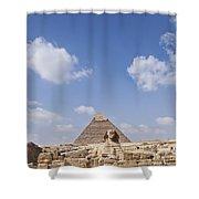 The Sphinx Egypt Shower Curtain