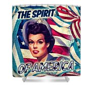 The Spirit Of America Shower Curtain