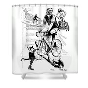 The Spirit Of Freedom Shower Curtain