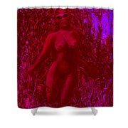 The Spirit Of The Wood Nymph Shower Curtain