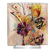 The Splash Of Life Series No 2 Shower Curtain