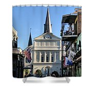 The St. Louis Cathedral Shower Curtain