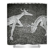 The Stags Shower Curtain