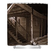 The Stairs Still Stand Shower Curtain