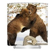 The Stand Off Shower Curtain